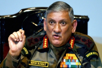 Army chief talks tough on Kashmir stone pelters