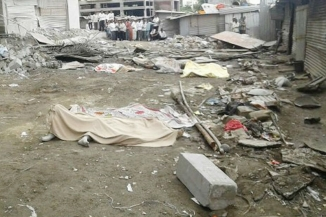 An Under-Construction Building's Slab Collapsed; 9 Killed, Several Injured