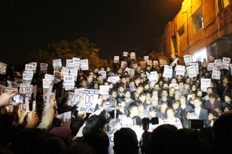 A Raw Video Footage Captured At JNU Authentic, Says Police